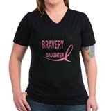Bravery (Daughter) Breast Cancer Shirt