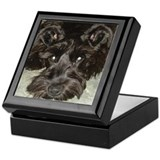 Unique Black Keepsake Box