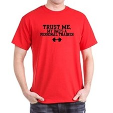 My Dad's a Personal Trainer T-Shirt