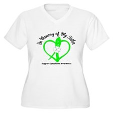 Lymphoma Memory Father T-Shirt
