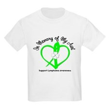 LymphomaInMemoryAunt T-Shirt