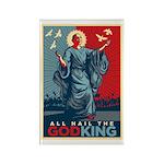 God-King Rectangle Magnet (100 pack)
