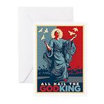 God-King Greeting Cards (Pk of 10)