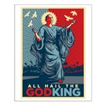 God-King Small Poster