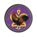 Partridge Chantecler Rooster Wall Clock