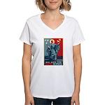 God-King Women's V-Neck T-Shirt