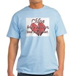 Chloe broke my heart and I hate her Light T-Shirt