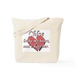 Chloe broke my heart and I hate her Tote Bag