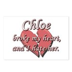 Chloe broke my heart and I hate her Postcards (Pac