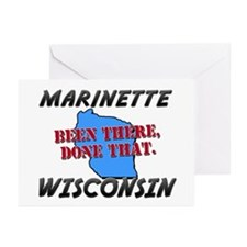 marinette wisconsin - been there, done that Greeti
