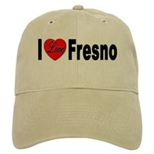 I Love Fresno California Baseball Cap