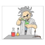 Mad Scientist Small Poster