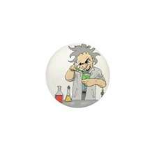 Mad Scientist Mini Button (100 pack)