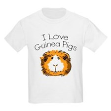 I love guinea pigs Kids T-Shirt