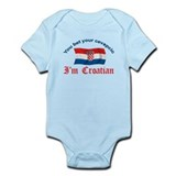 Croatian Cevapcic 2 Infant Bodysuit