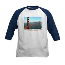 Golden Gate Bridge - Kids Navy Baseball Jersey