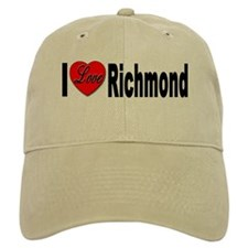 I Love Richmond Virginia Baseball Cap