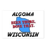 algoma wisconsin - been there, done that Postcards