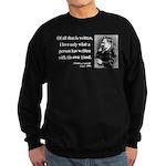 Nietzsche 33 Sweatshirt (dark)