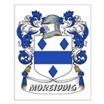 Moreiddig Coat of Arms Small Poster