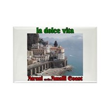 Atrani on the Amalfi Coast Rectangle Magnet