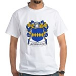 Newmarch Coat of Arms White T-Shirt
