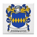 Newmarch Coat of Arms Tile Coaster