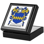 Newmarch Coat of Arms Keepsake Box