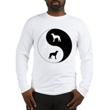 Yin Yang Deerhound Long Sleeve T-Shirt
