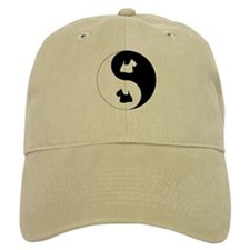 Yin Yang Scottie Baseball Cap