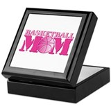 Basketball Mom Pink Keepsake Box
