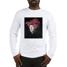 "Faces ""Van Eyck"" Long Sleeve T-Shirt"