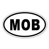 MOB Oval Oval Decal