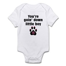 You Are Going Down Little Boy: Onesie