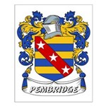 Pembridge Coat of Arms Small Poster