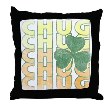 Irish Chug Throw Pillow