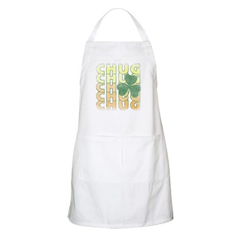 Irish Chug BBQ Apron