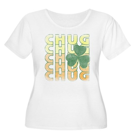 Irish Chug Plus Size Scoop Neck Shirt