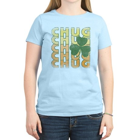Irish Chug Womens Light T-Shirt