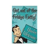 You're Welcome Refrigerator Magnet