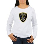 Compton College PD Women's Long Sleeve T-Shirt