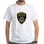Compton College PD White T-Shirt
