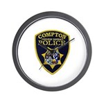 Compton College PD Wall Clock