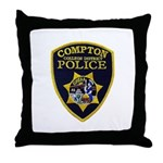 Compton College PD Throw Pillow