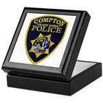 Compton College PD Keepsake Box