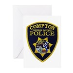Compton College PD Greeting Cards (Pk of 10)