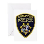 Compton College PD Greeting Card