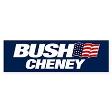 Bush Cheney Bumper Sticker (10 pk)