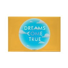 Dreams Come TrueRectangle Magnet