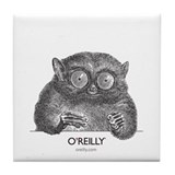 Tarsier (head) Tile Coaster